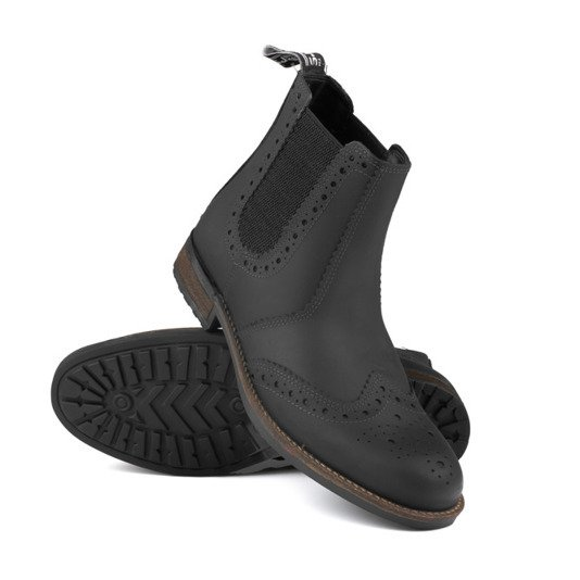 military boots classic leather chelsea military boots for men mens footwear
