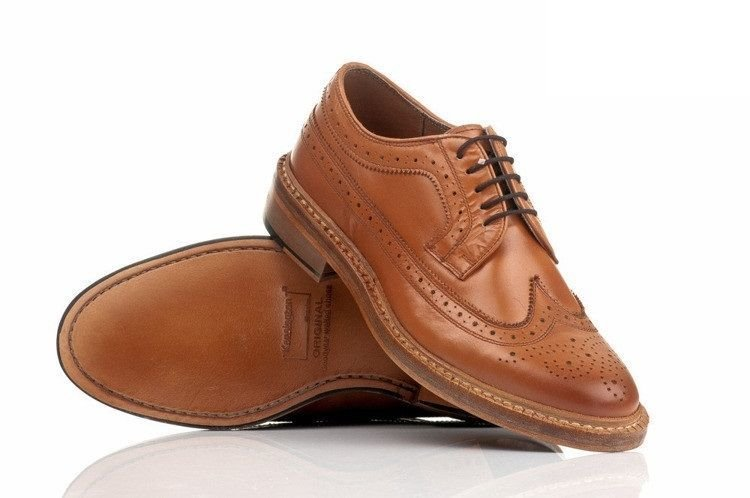 Gibson Leather Brogue Shoes - Oxford Style - Online ...