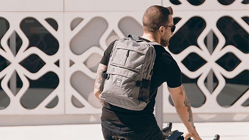 Urban backpacks with anti-theft technology1