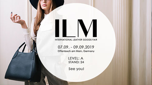 ILM International Leather Goods Fair- see you!