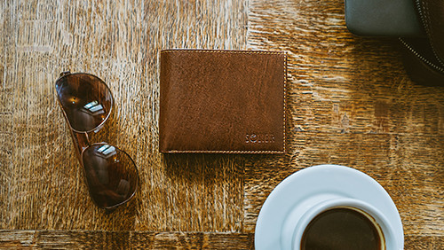 New men's and women's wallets with RFID on sale!
