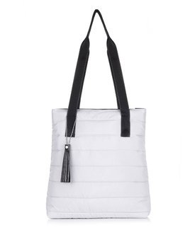 Women's shopper bag Felice FB46 grey