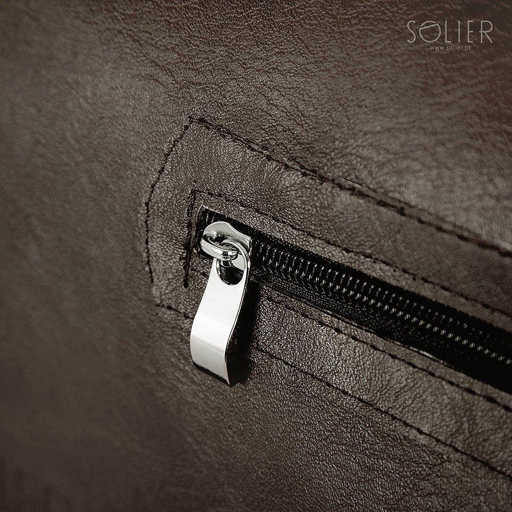 09dfc46900925 Brown shoulder laptop bag Solier S12 - online wholesale platform Merlitz