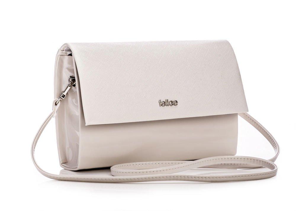 Cream Women S Clutch Bag Felice F13c Pattern Online