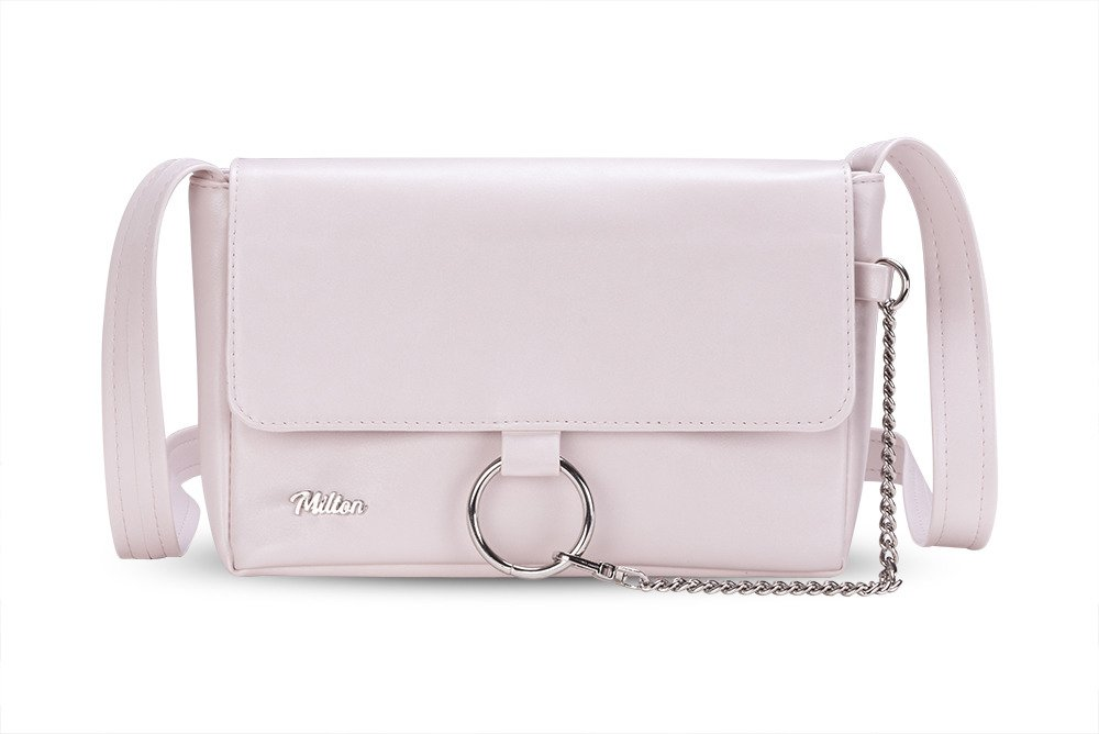 Crossbody Bag Milton Ml06 Light Pink