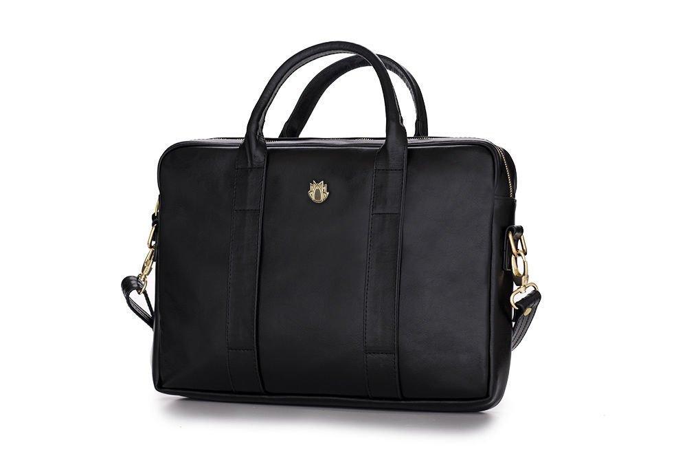 Elegant Shoulder Laptop Bag Felice Gold Dulce