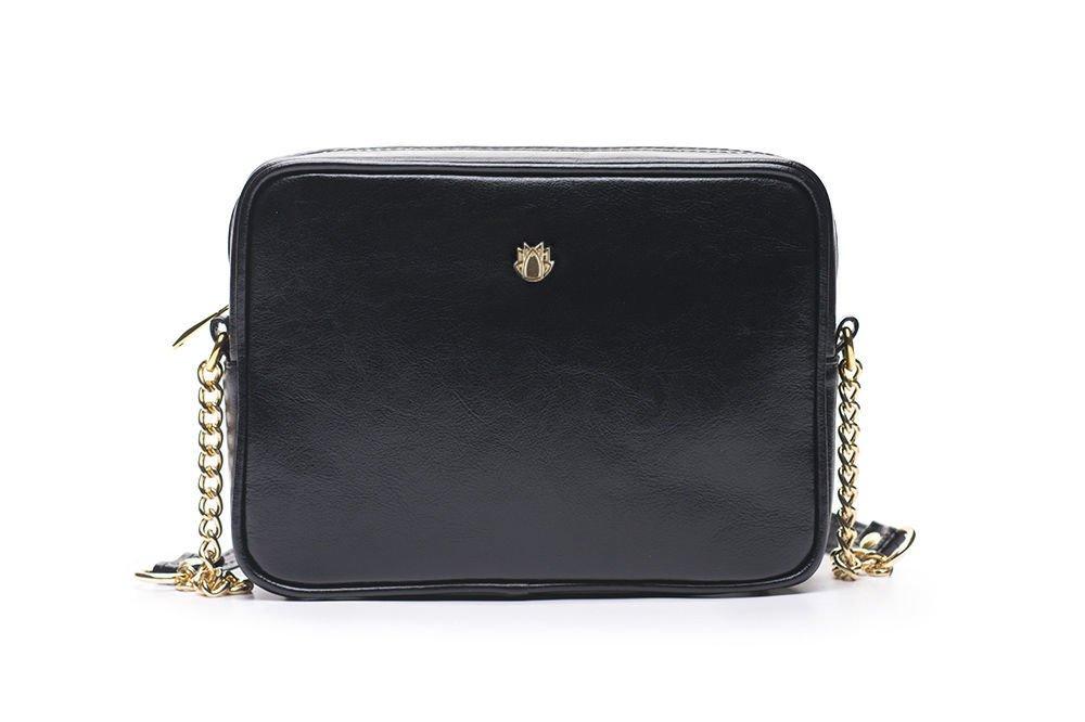 0e5f0e2aef7a5 Genuine leather women s crossbody Florence black - online wholesale ...