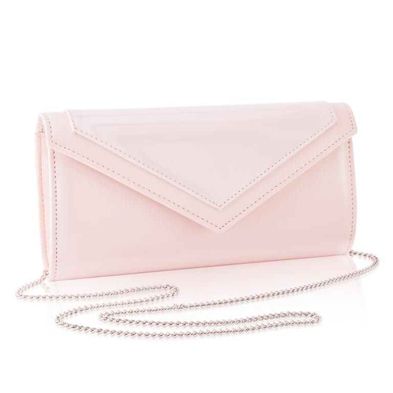 14a23b20a38 Women's Clutch bag with chain Felice F18 Light Pink - online ...