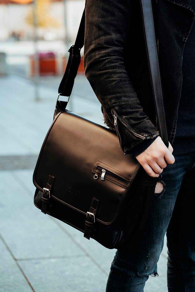 362ab30d1649c black shoulder laptop bag Solier S12 - online wholesale platform Merlitz