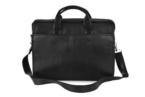 Black shoulder laptop bag S13