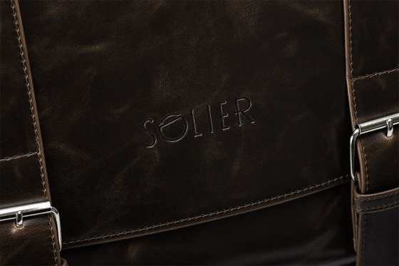 SHOULDER BAG SOLIER S25 GALWAY BROWN