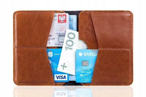 ff760c59a367e Slim leather men s wallet SOLIER SW10 SLIM BROWN - online wholesale ...