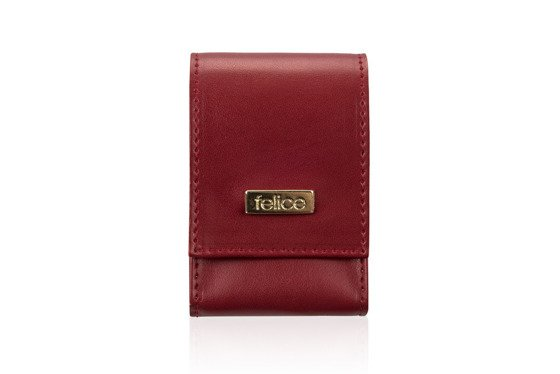 WOMEN'S CIGAR CASE FELICE FA14 STANDARD RED