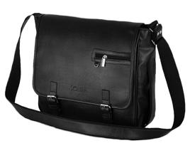 ed50d0059ce7d Czarna męska torba na ramię casual Solier S12