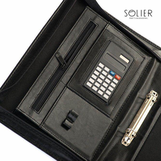 16dc021947058 Aktówka teczka biwuar na dokumenty Solier ST02b - hurtownia ...