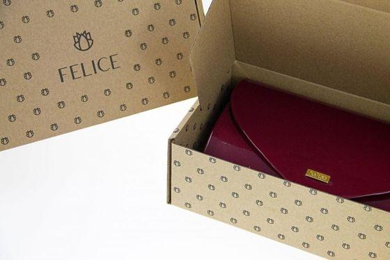 fe5d27914d3b2 Ciemnoczerwona damska kopertówka Felice F14 - hurtownia internetowa ...